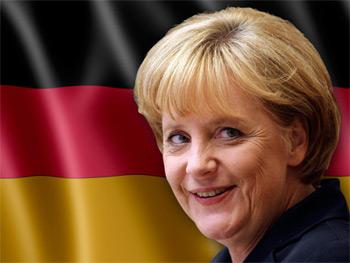 Triunfo de Angela Merkel