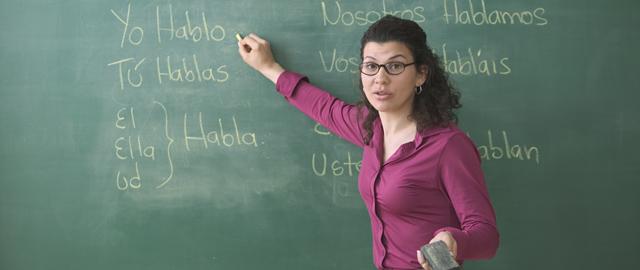 trabajar como profesol de español en Estado Unidos